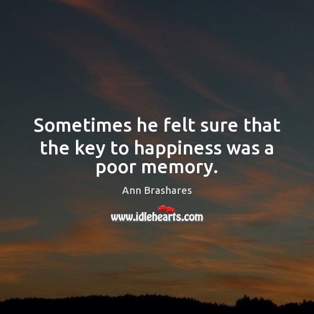 Picture Quote by Ann Brashares
