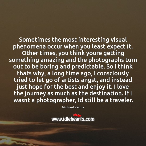Image, Sometimes the most interesting visual phenomena occur when you least expect it.