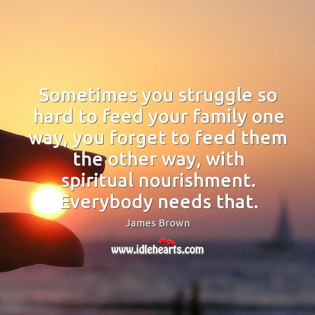 Sometimes you struggle so hard to feed your family one way Image