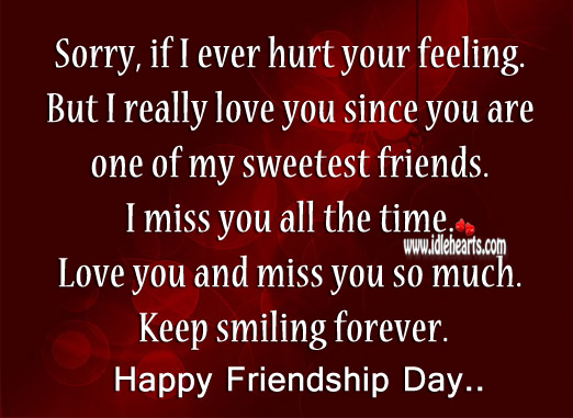 I really love you since you are one of my sweetest friends. Life Without You Quotes Image