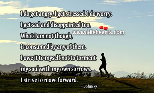 Image, I strive to move forward.