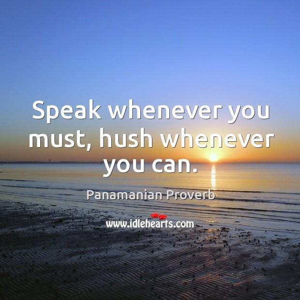 Panamanian Proverbs