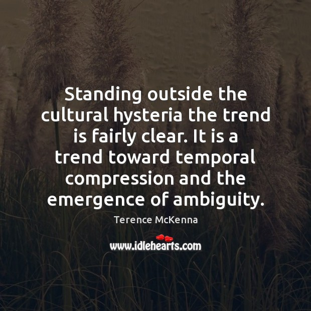 Standing outside the cultural hysteria the trend is fairly clear. It is Image