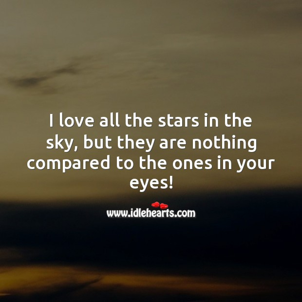 Stars in the sky Love Messages Image