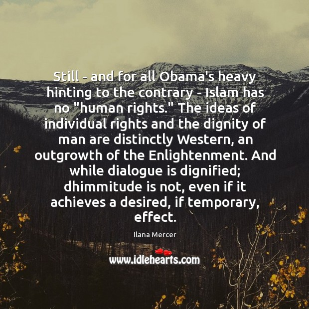 Still – and for all Obama's heavy hinting to the contrary – Image