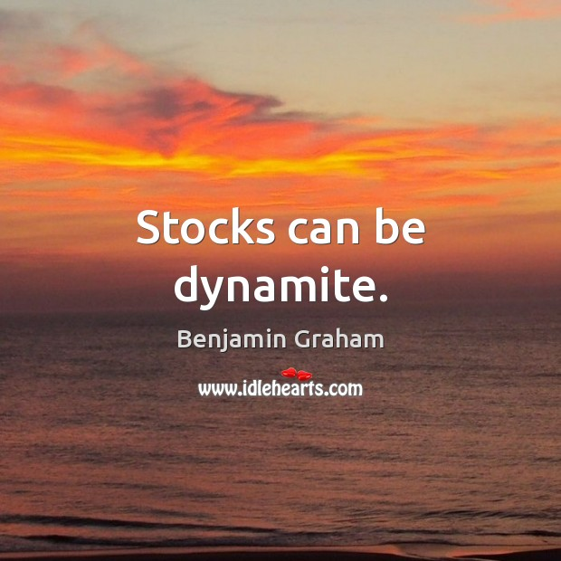 Image about Stocks can be dynamite.