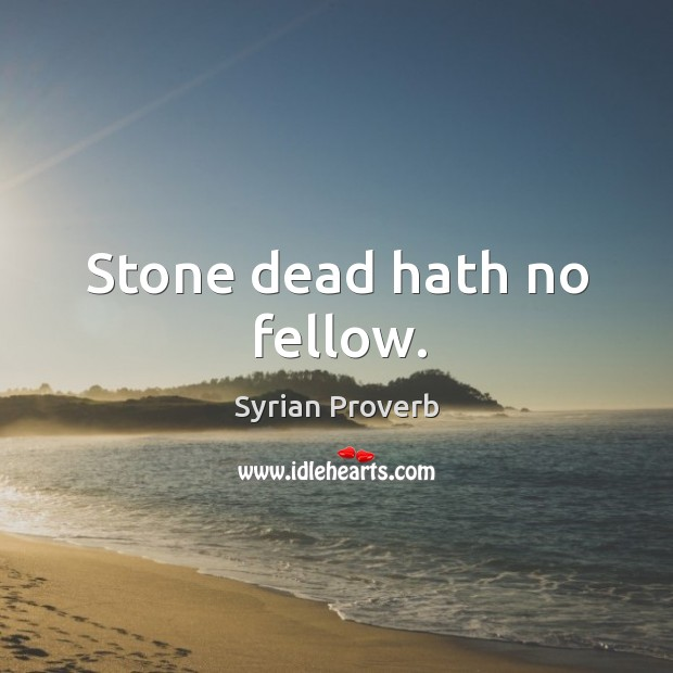 Syrian Proverbs