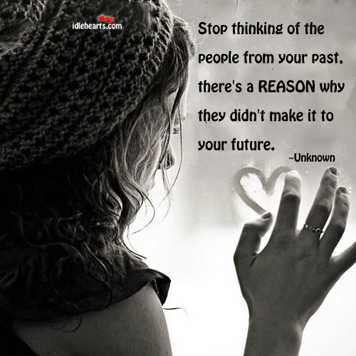 Stop thinking of the people from your Image