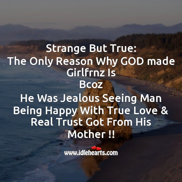 Strange but true Mother's Day Messages Image