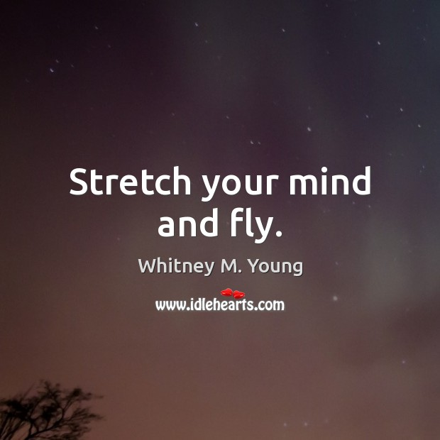 Stretch Your Mind And Fly