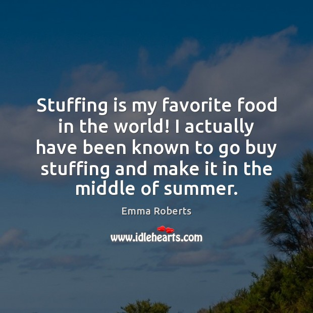 Stuffing is my favorite food in the world! I actually have been Image