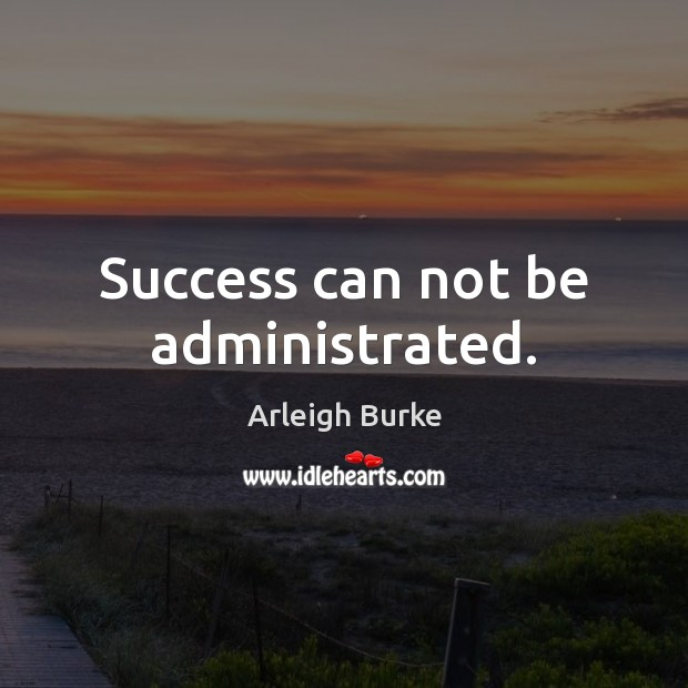 Image, Success can not be administrated.