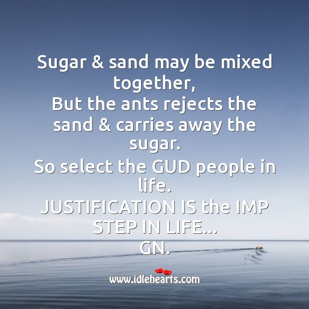 Image, Sugar & sand may be mixed together