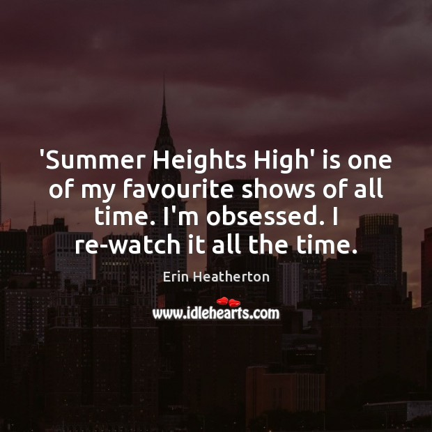 'Summer Heights High' is one of my favourite shows of all time. Image