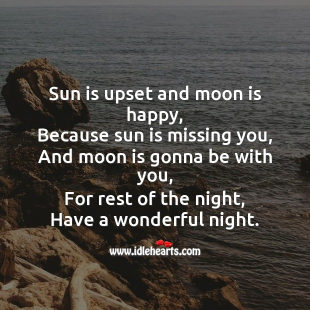 Image, Sun is upset and moon is happy