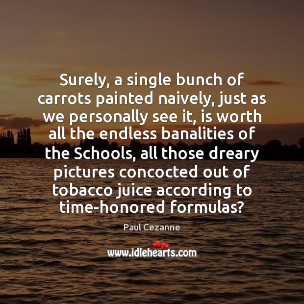 Surely, a single bunch of carrots painted naively, just as we personally Image