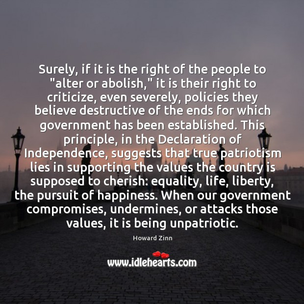 """Surely, if it is the right of the people to """"alter or Image"""