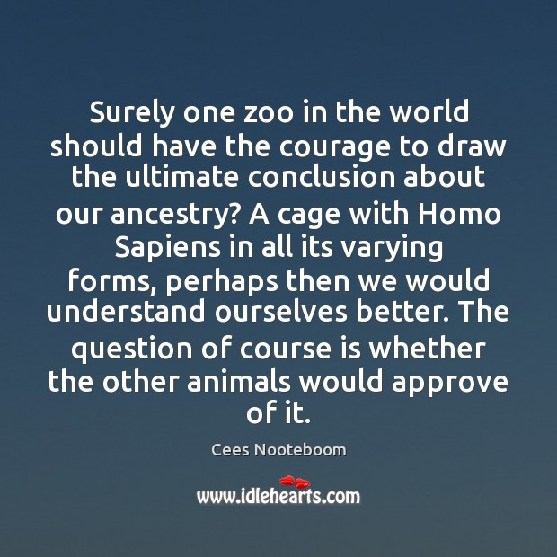 Image, Surely one zoo in the world should have the courage to draw