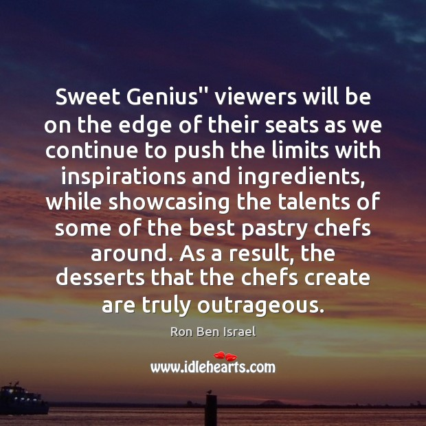 """Sweet Genius"""" viewers will be on the edge of their seats as Image"""