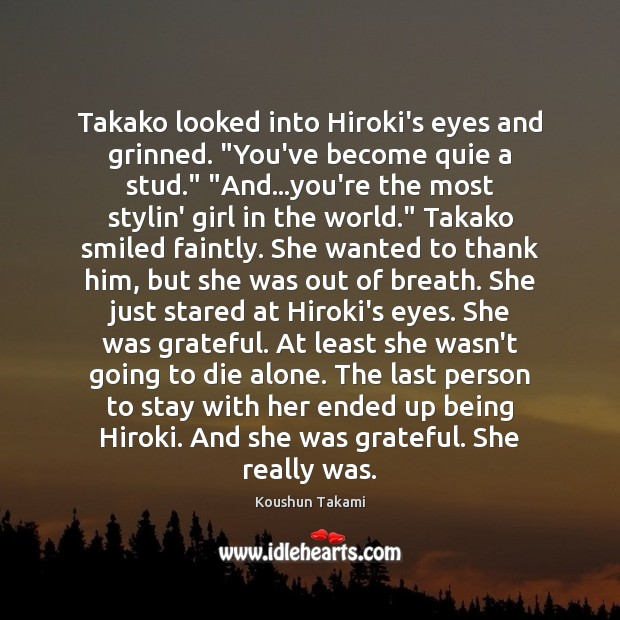 Koushun Takami Quotes / Quotations / Picture Quotes and Images