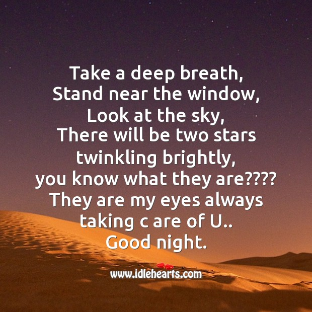 Image, Take a deep breath