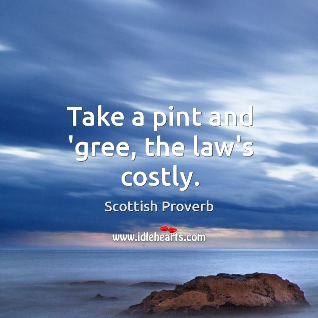 Scottish Proverbs