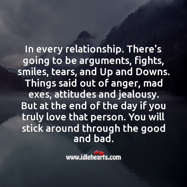 Take care of the people who love you, and your relationship. Relationship Quotes Image