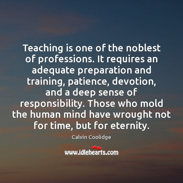 essay about teaching as the noblest profession