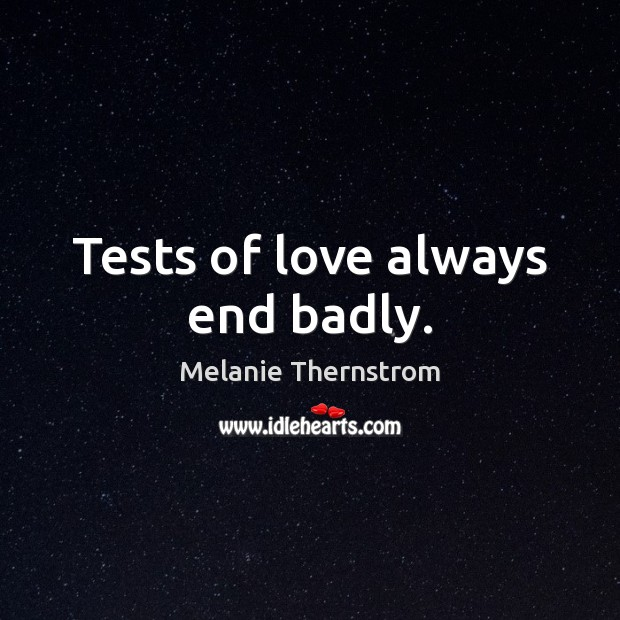 Picture Quote by Melanie Thernstrom