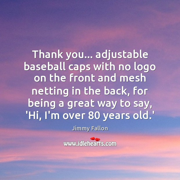 Image, Thank you… adjustable baseball caps with no logo on the front and