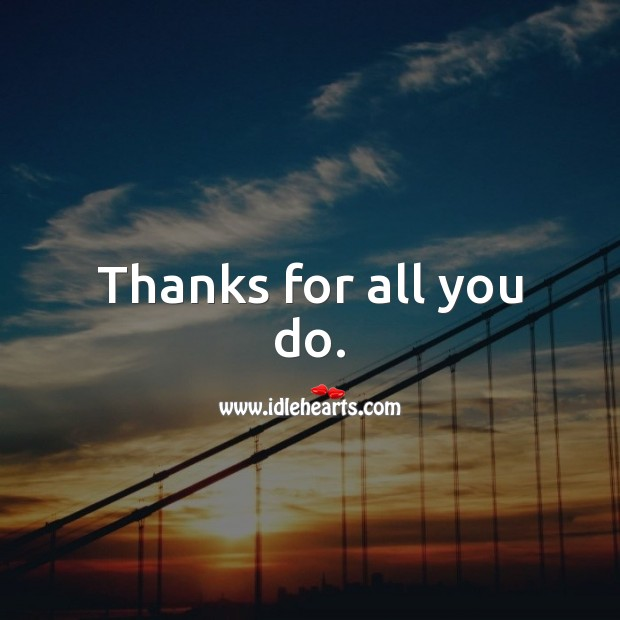 Thanks for all you do. Father's Day Messages Image