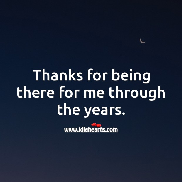 Thanks for being there for me through the years. Birthday Messages for Brother Image