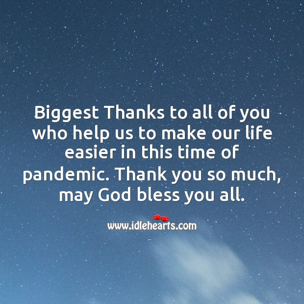Thanks to all of you who help us to make our life easier in this time of pandemic. Help Quotes Image