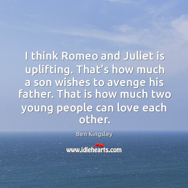 People That Love Each Other: That Is How Much Two Young People Can Love Each Other
