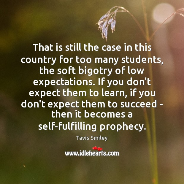 That is still the case in this country for too many students, Image