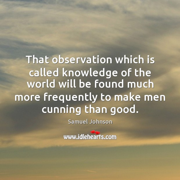 Image, That observation which is called knowledge of the world will be found