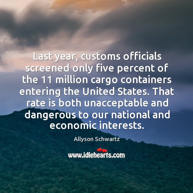 Image, That rate is both unacceptable and dangerous to our national and economic interests.
