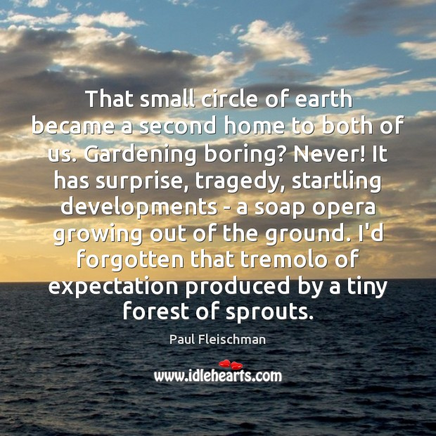 Image, That small circle of earth became a second home to both of