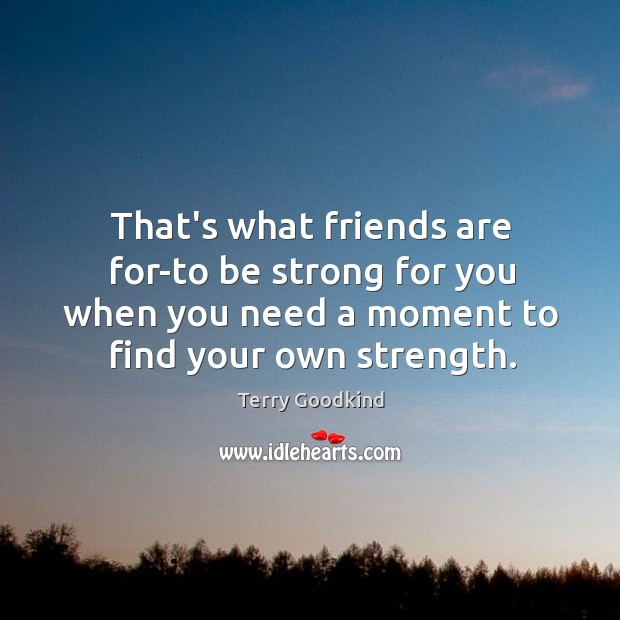 what are friends are for How can the answer be improved.