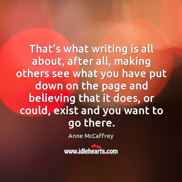 Picture Quote by Anne McCaffrey