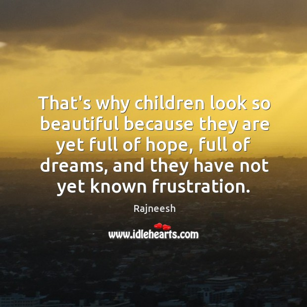 Image, That's why children look so beautiful because they are yet full of