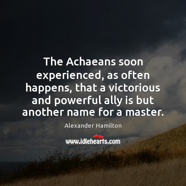 Image, The Achaeans soon experienced, as often happens, that a victorious and powerful