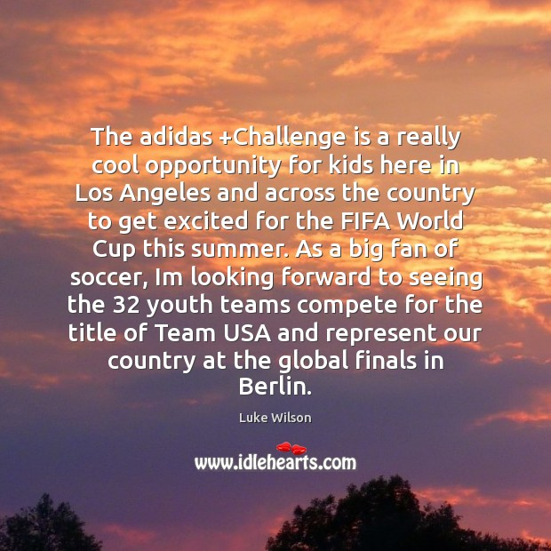 Image, The adidas +Challenge is a really cool opportunity for kids here in