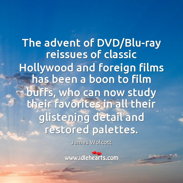 Image, The advent of DVD/Blu-ray reissues of classic Hollywood and foreign films