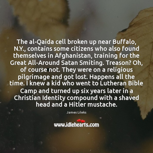 The al-Qaida cell broken up near Buffalo, N.Y., contains some citizens Image