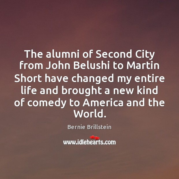 Image, The alumni of Second City from John Belushi to Martin Short have