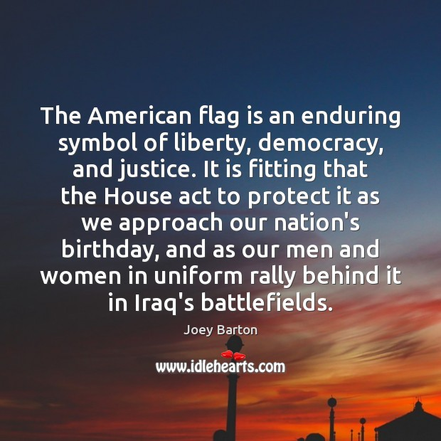 Image, The American flag is an enduring symbol of liberty, democracy, and justice.