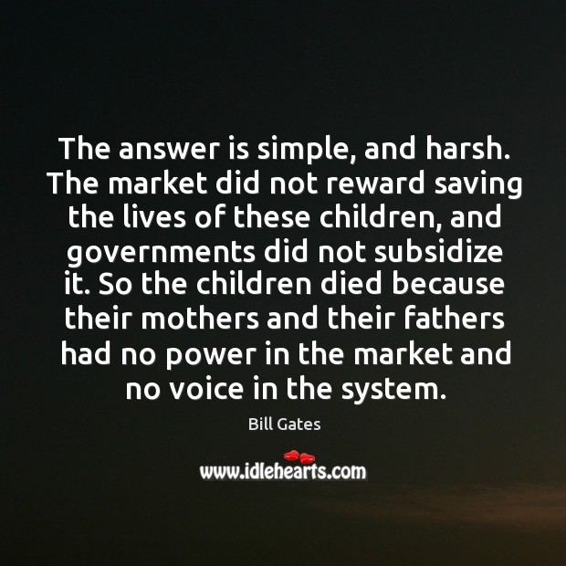 The answer is simple, and harsh. The market did not reward saving Image