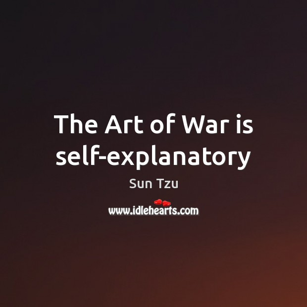 The Art of War is self-explanatory Image