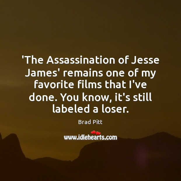 'The Assassination of Jesse James' remains one of my favorite films that Image